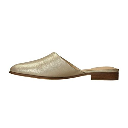 Clarks Womens Pure Blush Mules Champagne Metallic