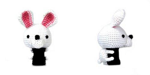 逆輸入 Amimono B00ATRFNT2 Rabbit Golfヘッドカバー 460cc ホワイト Amimono Rabbit/ピンク B00ATRFNT2, さくらんぼの里山形「味の農園」:54d8c65d --- a0267596.xsph.ru