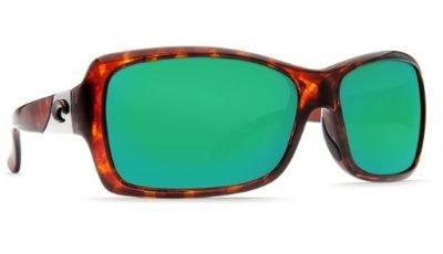 Costa Del Mar Sunglasses - Islamorada- Glass / Frame: Tortoise Lens: Polarized Green Mirror Wave 580 - Islamorada Costa Sunglasses