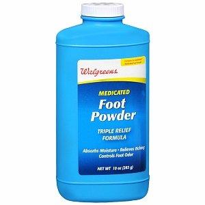 Walgreens Medicated Foot Powder, 10 oz