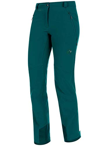 Mammut 1021-09332 Women's Tatramar SO Pants, Teal/Atoll - US 10