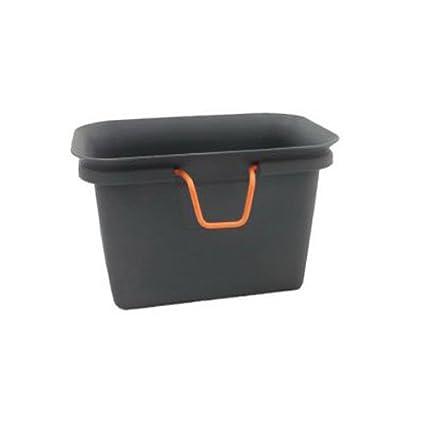 Full Circle fc11302-s colector de residuos y compostador plástico Negro