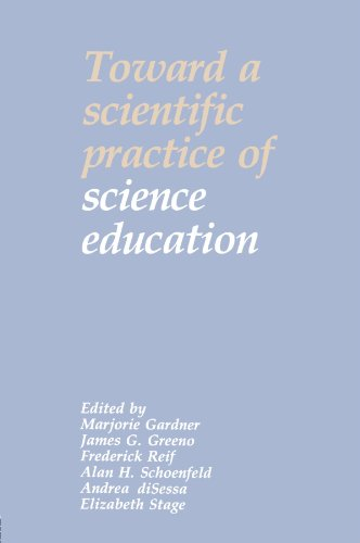 Toward a Scientific Practice of Science Education