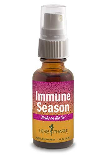 Herb Pharm Herbs on The Go Portable Spray: Immune Season, 1 Ounce
