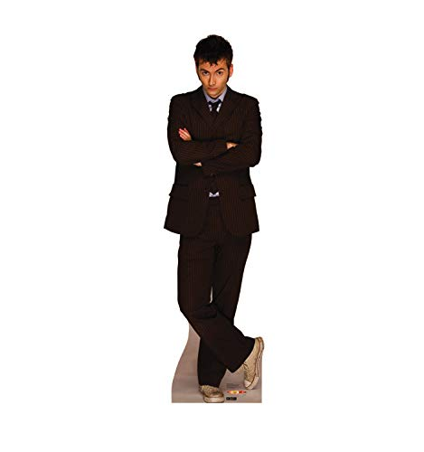 Advanced Graphics Tenth Doctor David Tennant Life Size Cardboard Cutout Standup - BBC's Doctor Who -