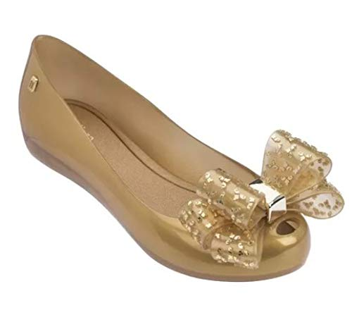 Feisette Women Sandals Jelly Shoes Casual Flat Fashion Butterfly-Knot Melissa Sandals