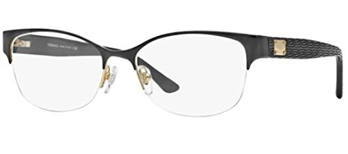 Versace VE1222 Eyeglasses-1342 - And Glasses Gold Black Versace