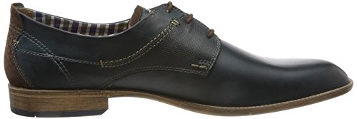 FRETZ Scarpe men Stringate Blue Blau Uomo Tosco Derby r6rTq