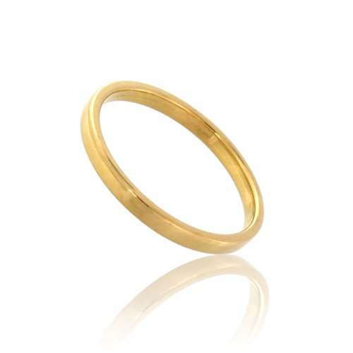 Tous mes bijoux - CDMC558 - Alliance Femme - Or jaune 375/1000 1.6 gr - Ruban - 2 mm