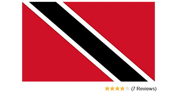 Flag  5ft x 3ft TRINIDAD AND TOBAGO
