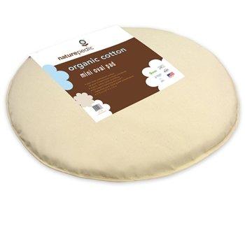 Amazon.com: Naturepedic algodón orgánico Cuna Colchón oval ...