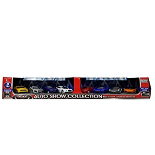 MSZ Vroom Tech Auto Show Collection Doors Open 8 Pack