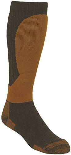 Kenetrek Alaska Socks, Black/Orange, - Heavyweight Boot Sock Wool