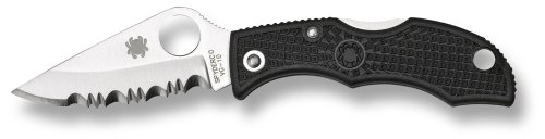 KNIFE LADYBUG COMBINATION PLAIN/SERRATED, Outdoor Stuffs