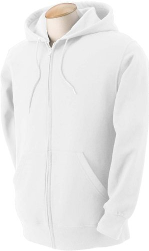 - Fruit of the Loom Womens 12 oz. 70/30 Full-Zip Hood (82230) -Athletic H -M