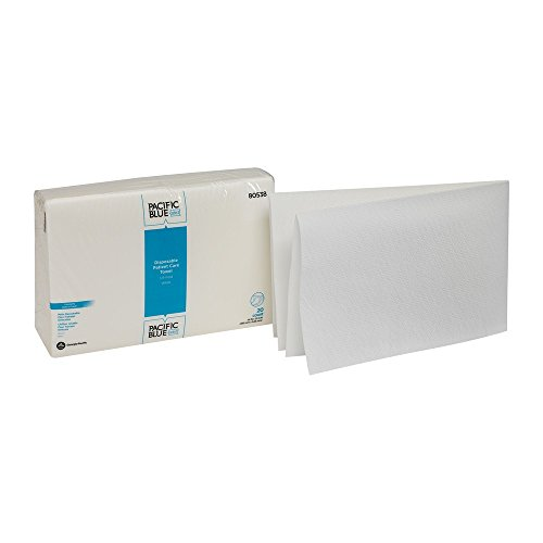 Fresh Airlaid Wipers - Pacific Blue Select A300 Disposable Patient Care Washcloth by GP PRO
