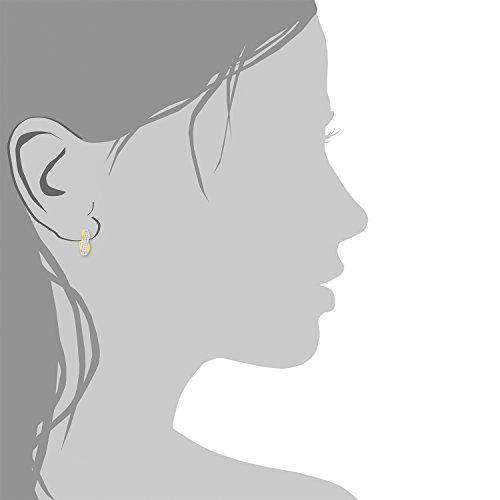 Amor - Boucles d'oreilles - Or jaune - Oxyde de Zirconium - 571548