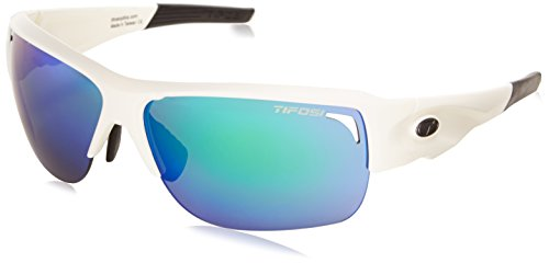 Tifosi Elder 1170101228 Wrap Sunglasses, Matte White, 61 mm