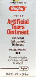Rugby Artificial Tears Ointment 1/8 oz