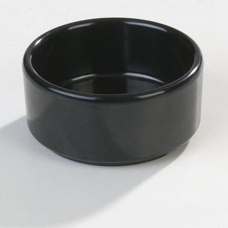 Black Melamine Straight Sided Ramekin 4 Ounce - 1 each