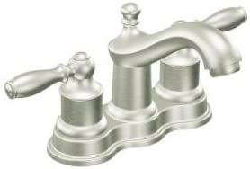 Lindley Centerset Bathroom Faucet with Double Handles