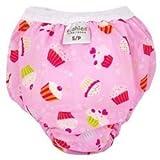 Kushies Taffeta Waterproof Training Pants (Small, Cupcake) by Kushies