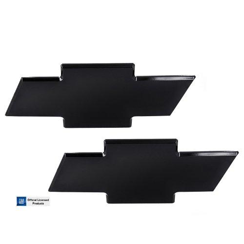 All Sales 96105K Black powder coat Grille Bowtie Emblem Combo Kit