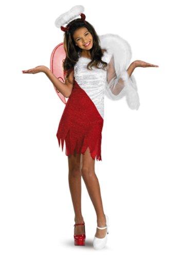 Tween Costumes (Sassy Scene Heavenly Devil Deluxe Tween Costume, Large (10-12))