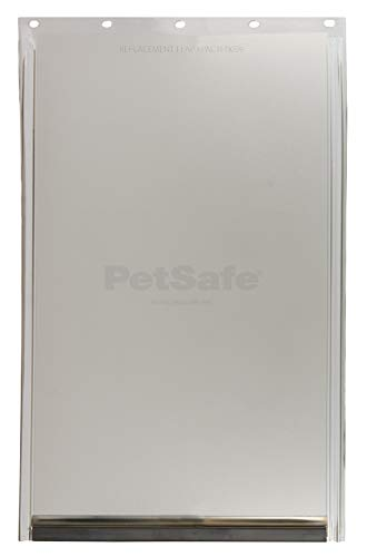 PetSafe Dog and Cat Door Replacement Flap - Large - 10 1/8 in x 16 7/8 in - SKU# PAC11-11039