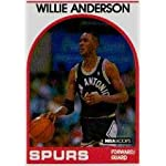 Other Memorabilia Featuring Willie Anderson RC