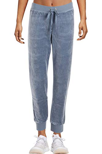 - Juicy Couture Women's Velour Zuma Pants with Pockets Dusty Navy Petite/X-Small 28
