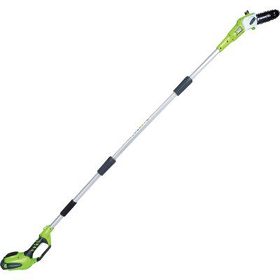GreenWorks 40V G-Max Cordless Lithium-Ion Pole Saw - 8in. Ba