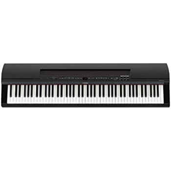 Yamaha P255 88-Key Professional Weighted Action Digital Piano with Sustain Pedal, Black