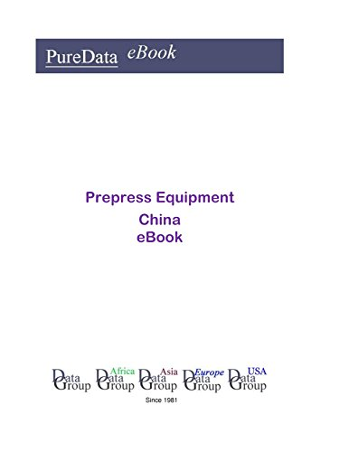 Prepress Equipment in China: Market Sales in China