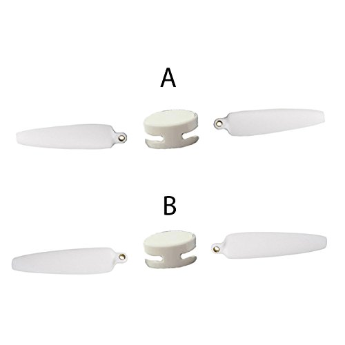 Yuneec Breeze Foldable Propellers (2Pcs Clockwise and 2Pcs Counter-Clockwise), White (YUNFCA101)