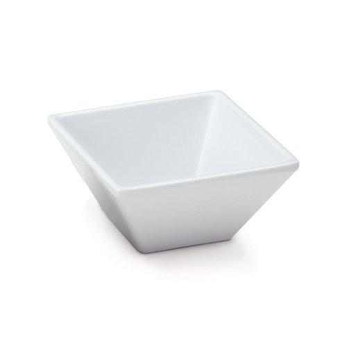 G.E.T. ML-257-W Siciliano White 3 Ounce Square Petite Bowl - 48 / CS by GET (Image #2)