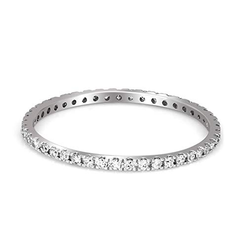 Luxury Eternity Diamond Ring 1/4 cttw IGI Certified for sale  Delivered anywhere in USA