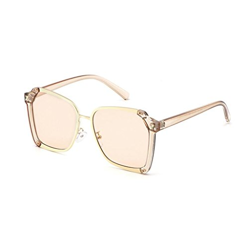 Sol Polarized Moda Gafas Gafas 4 Color Frame 4 Harajuku Metal Vintage Movement Drive Anti HOME QZ de Light Style UV400 tgp4Fq