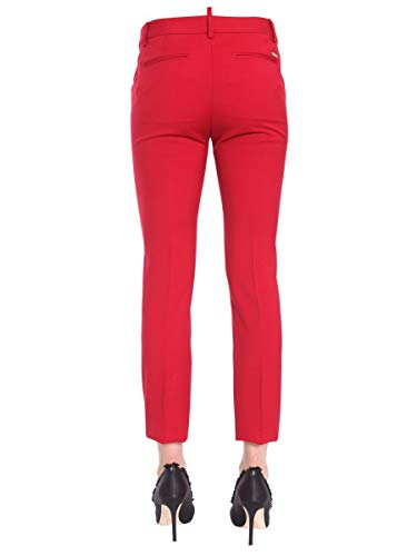Lana Rojo S75ka0792s36258307 Mujer Dsquared2 Pantalón 8qSXw