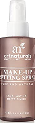 ArtNaturals Natural Makeup Setting Spray - Long Lasting and All Day Extender –Made with Aloe Vera - 4 Fl Oz