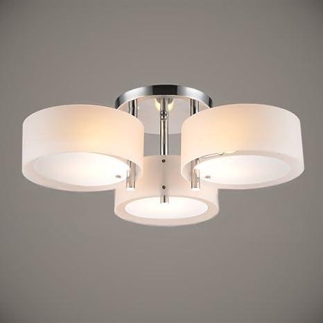 Lightinthebox moderncontemporary acrylic chandelier with 3 lights lightinthebox moderncontemporary acrylic chandelier with 3 lights chrome finish mini style flush mount for mozeypictures Choice Image