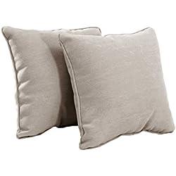 Sunjoy S-PL065PFB Outdoor Pillow, Tan