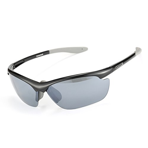 ODODOS Men's Polarized Sports Style Sunglasses for Cycling Running-UV400 - Sale Costa For Hats