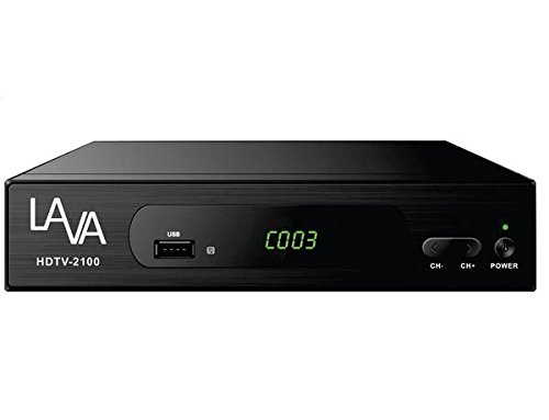 LAVA Digital Converter Box for Analog TV, Full ATSC Compatible,support full HD, 1080p SD/HD with Record and Pause Live TV, USB Multimedia Playback
