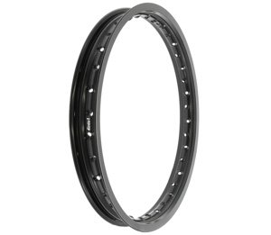 Rising Sun Aluminum Rim - Black - 36 Hole - 1.60 x 18 ()