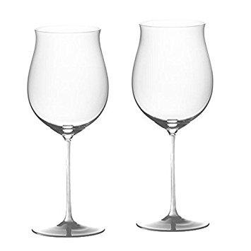 Riedel Sommeliers Leaded Crystal Burgundy Grand Cru Wine Glass, Set of 2