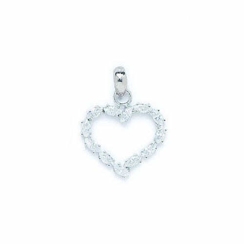 14 k or Coeur Amour PW76