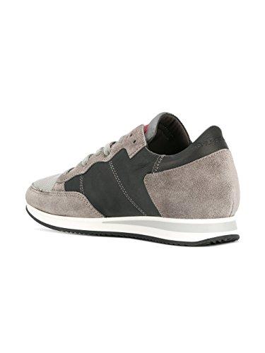 In Femminili Pelle Tlrdwz27 Modello Grigio Sneakers Philippe 74nt6