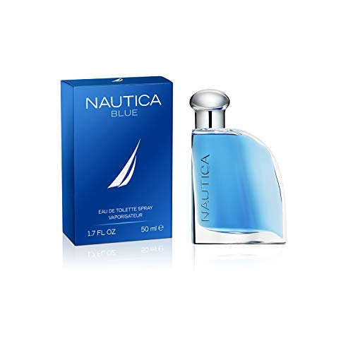 Nautica Blue 1.7 Ounce Eau De Toilette Spray for Men, 1.7 Fluid - Set Spray Gift Nautica