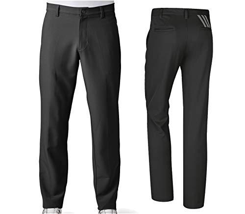 adidas Golf Men's Adi Ultimate 3 Stripe Pants, Black, Size 34/32 ()